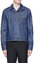 Rag & Bone Raw denim jacket