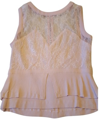 Sandro Pink Lace Top for Women