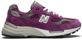 "New Balance M992BA ""Purple"" low-top sneakers"