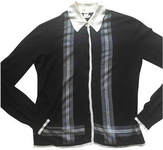 Hermã ̈S HermAs Black Cashmere Knitwear