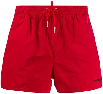 Dsquared2 Beachwear Icon print swim shorts