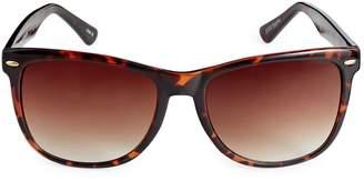 Etereo 59MM Rectangular Tortoise Sunglasses