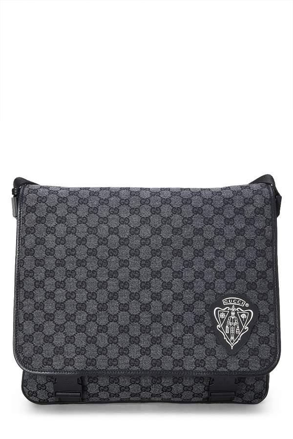 434935a03cb1 Gucci Canvas Leather Messenger Bag - ShopStyle