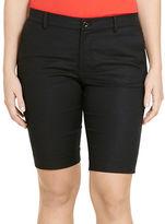 Lauren Ralph Lauren Plus Stretch Cotton-Blend Shorts