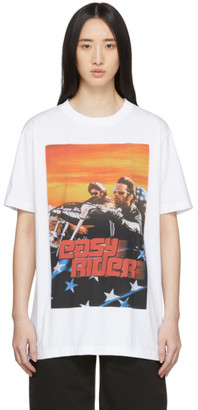 Marcelo Burlon County of Milan White Easy Rider T-Shirt