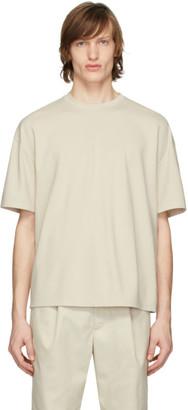 Deveaux Beige Oversized T-Shirt