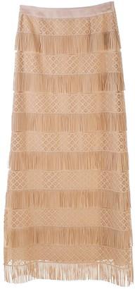 Alberta Ferretti Sand Skirt
