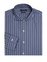 Polo Ralph Lauren Slim-Fit Striped Dress Shirt