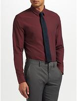 J.lindeberg Texture Shirt, Burgundy