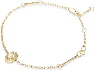 Bjorg Small Gold Anatomic Heart Bracelet