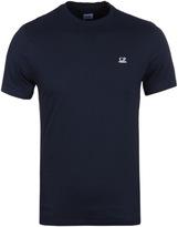 Cp Company Navy Goggle Hood Print T-shirt