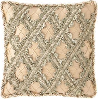 Sweet Dreams Gianna Lattice Boutique Pillow