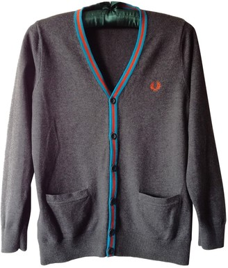 Fred Perry Grey Cotton Knitwear for Women