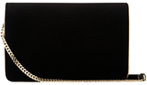 LK Bennett Selena Shoulder Bag, Black/Gold