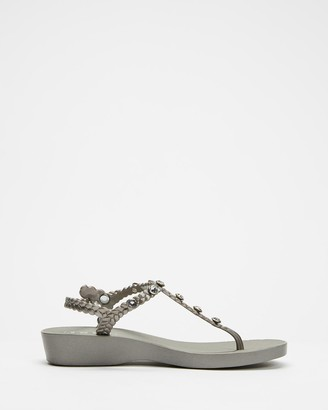 Holster Women's Grey Sandals - Skye Wedge - Size One Size, 9 at The Iconic