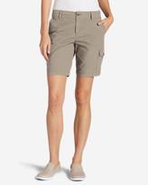 Eddie Bauer Women's Adventurer® Stretch Ripstop Cargo Shorts - Slightly Curvy