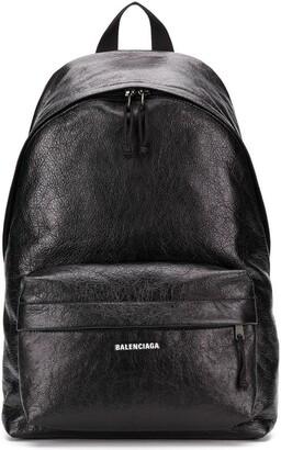Balenciaga logo printed backpack
