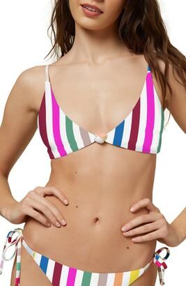 O'Neill Cascada Stripe Bikini Top