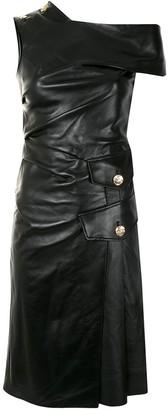 Proenza Schouler One Shoulder Midi Dress
