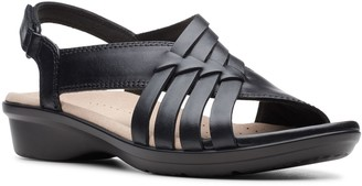 Clarks Loomis Cassey Women's Leather Strappy Sandals