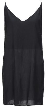 Black Crane Short dress