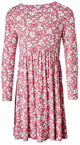 John Lewis Girls' All-Over Floral Print Dress