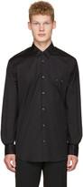 DSQUARED2 Black Nipple Piercing Shirt