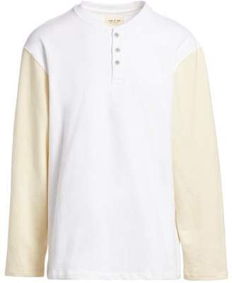 Fear Of God Sixth Collection Long-Sleeve Henley Pullover