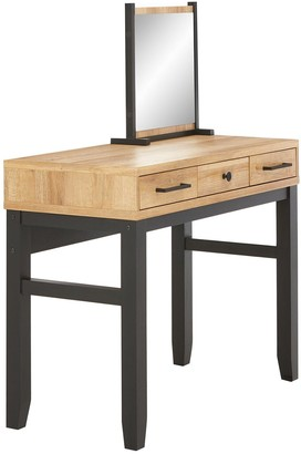 Dalston Dressing Table and MirrorSet