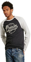 Denim & Supply Ralph Lauren Cotton Jersey Baseball Tee