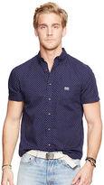 Denim & Supply Ralph Lauren Star-Print Cotton Poplin Shirt