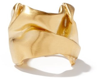 COMPLETEDWORKS Crushed 14kt Gold-vermeil Ring - Yellow Gold