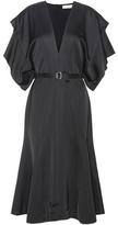 Victoria Beckham Silk-blend satin dress
