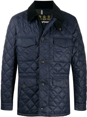 Barbour Quilted Single-Breasted Jacket