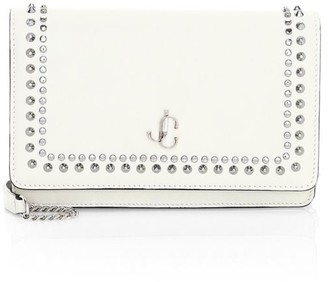 Jimmy Choo Palace Studded Leather Crossbody Bag