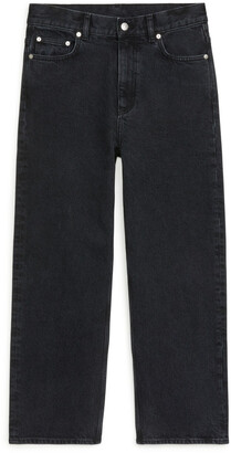 Arket STRAIGHT CROPPED STRETCH Jeans