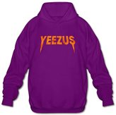 Sofia Men's Kanye West Album Yeezus Logo Hoodies M