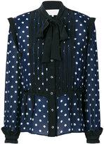 Maison Margiela polka dot blouse