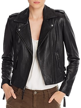 Joie Leolani Leather Moto Jacket