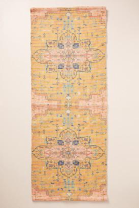 Anthropologie Harmony Bath Mat By in Yellow Size 21 X 34