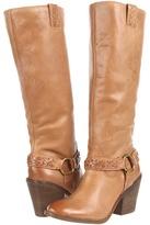 Lucky Brand Ethelda Boot (Dark Camel) - Footwear