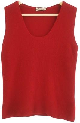 Blumarine Red Wool Top for Women