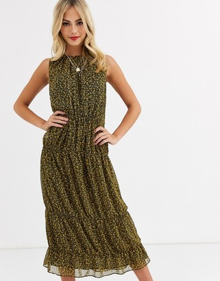 Stevie May saige ditsy print midi dress