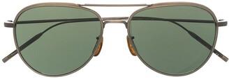Oliver Peoples Aviator-Frame Sunglasses