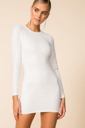 superdown Evie Sparkle Mini Dress