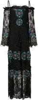 Figue Noelle dress - women - Cotton/Nylon/Rayon/Viscose - XS