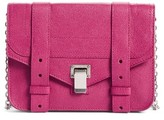 Proenza Schouler Women's Ps1 Leather Chain Wallet - Purple