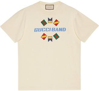 Gucci Band print T-shirt