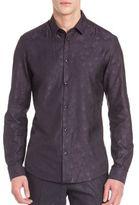 Versace Tonal Star Woven Shirt