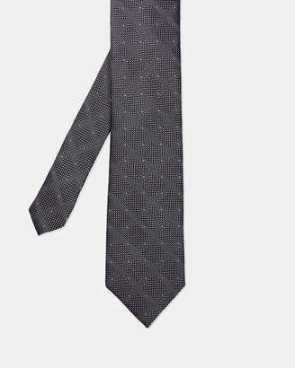 Ted Baker SLAYER Checked silk tie